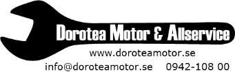Dorotea Motor och Allservice